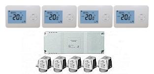 Vloerverwarming en radiatoren apart regelen